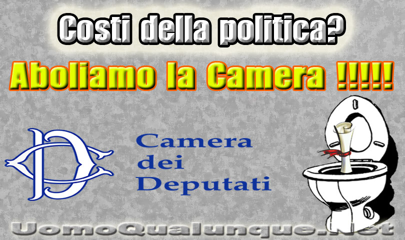 Caro renzi perch non aboliamo la camera dei deputati for La camera dei deputati